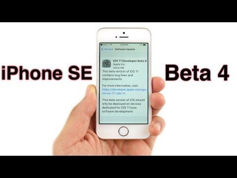 iPhone SE iOS 11 Beta 4 Review!