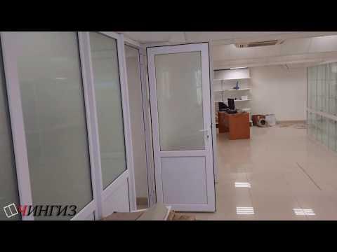 Офисные перегородки из пластика в Уфе   Компания ЧИНГИЗ