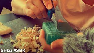 ASMR seckanje sapuna (soap carving)- failčina 😂