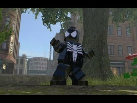 LEGO Marvel Super Heroes (PS4) - All Spider Man Characters and Vehicles (DLC Included)