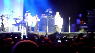 New Edition performing You're Not My Kind Of Girl live @ the Oracle Arena in Oakland June 23, 2012