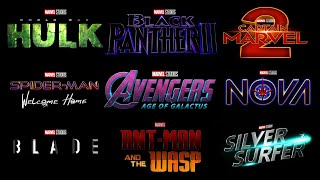 4 MARVEL PHASE 5 MOVIES REVEALED!  Marvel Phase 5 Slate Explained