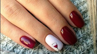 Маникюр на сезон осень зима 2020 2021 40 идей модного маникюра Nail Art