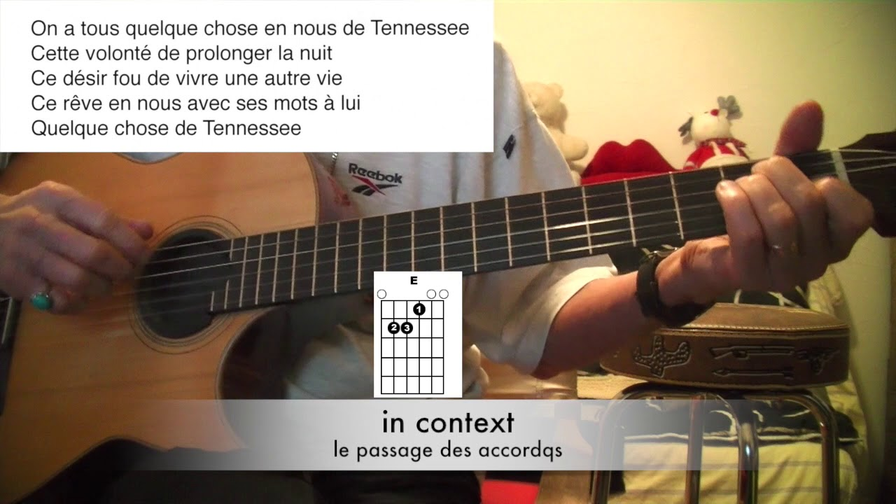 n 323 tuto guitare d butants quelque chose de tenessee johnny hallyday youtube. Black Bedroom Furniture Sets. Home Design Ideas