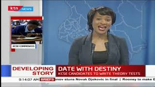 Date with destiny: KCSE candidates to write theory exams