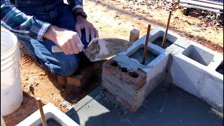 How to Build a SMOKEHOUSE (Part 2 The Pipe and Foundation)