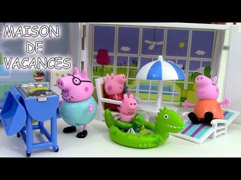 Peppa Pig Maison de vacances Holiday Sunshine Villa Playset ♥ Jouets de Peppa Pig en francais streaming vf