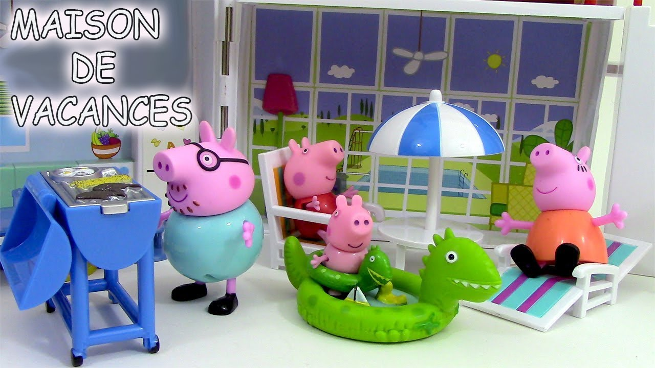 peppa pig maison de vacances holiday sunshine villa. Black Bedroom Furniture Sets. Home Design Ideas