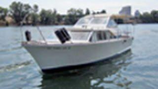 1964 Glassmar Cabin Cruiser Coast Guard Boat On Govliquidation.com