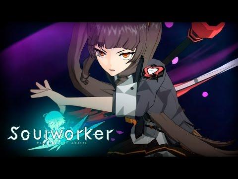 Soul Worker Online (Anime Action MMORPG): Myst Scythe Gameplay (F2P Japan Stress Test)