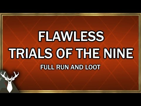 Destiny 2 - Full Trials of the Nine Flawless Gameplay