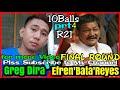 Part 4 | Efren 'Bata' Reyes VS. Greg Dira 55k R21 @ YBC GRAND HOTEL OLONGAPO CITY