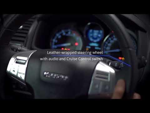 The New Isuzu mu-X with Blue Power Diesel Engine