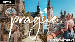 Prague Travel Guide Vlog with Air Canada Vacations | City Tours, Boat Tour, Bohemian Paradise & Food