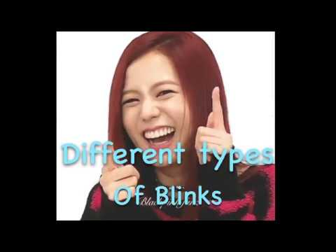 Different types of blinks