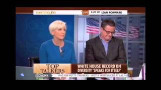 Joe Scarborough Sexism on live TV