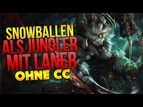 Snowballen als Jungler mit Laner ohne CC [League of Legends] [Deutsch / German] thumbnail