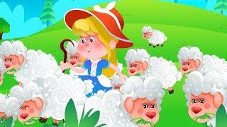 Wenig Bo Peep Hat Verloren Ihre Schafe | Cartoons Für Kleinkinder | Kindergarten Reime Für Babys von Kinder-Tv