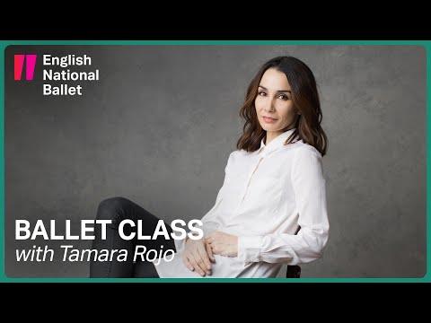 Ballet Class With Tamara Rojo #1 | English National Ballet