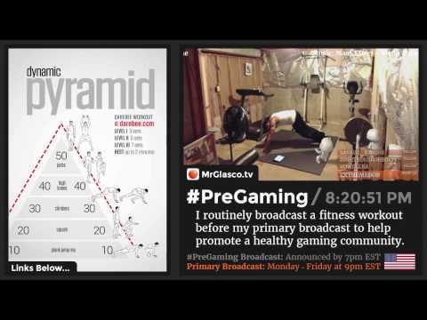 #PreGaming: DAREBEE Dynamic Pyramid Workout 💪