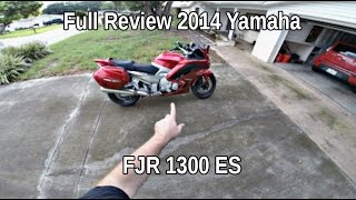 2014 Yamaha FJR 1300 ES Full Review