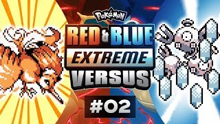Pokemon Red and Blue EXTREME Versus - EP02 | MOLTRES STAP!!