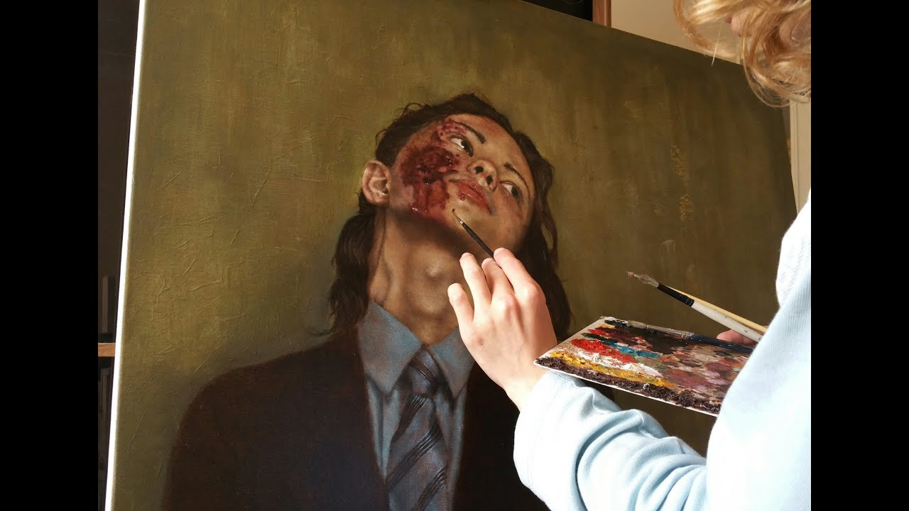 Hyperrealism in painting. Is it really possible Someone knows the author 57