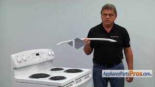 Range Oven Door Handle (Part #WB15T10176) - How To Replace