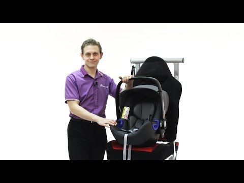 Автокресло 0+ Britax Roemer Baby-Safe I-Size (Бритакс Ремер Бэби Сейф)