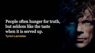 Best Quotes Compilation Of Game Of Thrones!