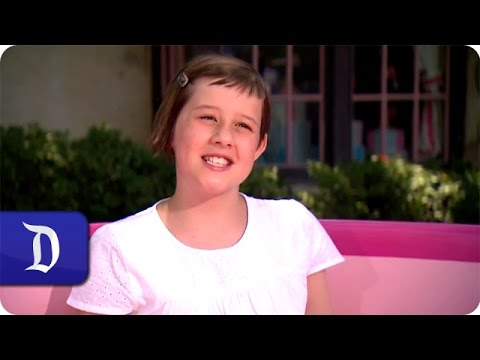 Ruby Barnhill From 'The BFG' Visits the Disneyland Resort
