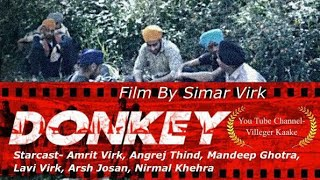 Donkey India to america/New short film/Latest Punjabi movie/Hollywood movie