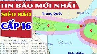 Siêu Bão MangKhut Giật Cấp 16 Đang Nối Tiếp Bão Số 5 Tràn Vào Biển Đông