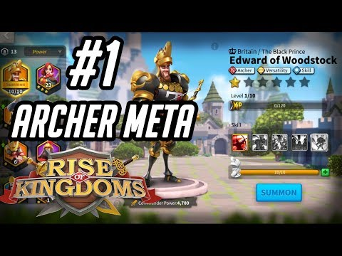 Edward of Woodstock Commander Guide [Walk Through] Tomyris Partner | Rise of Kingdoms