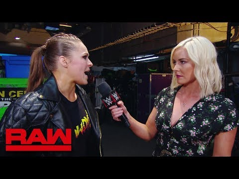 Ronda Rousey is coming for Alexa Bliss: Raw, June, 18, 2018