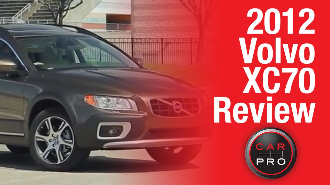 TEST DRIVE: 2012 Volvo XC70 Review  YouTube