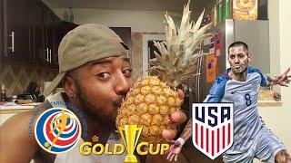 🇺🇸 USA Vs COSTA RICA 🇨🇷 2-0 REACTION | 2017 CONCACAF GOLD CUP/COPA ORO SEMI FINALS
