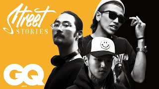 Cutting edge rappers at Japan's hip-hop culture forefront | STREET STORIES - #7 HIPHOP | GQ JAPAN