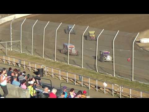 Grays Harbor Raceway, July 29, 2017, PHRA Dwarf Cars Heat Races 1,2,3,4,5 and 6