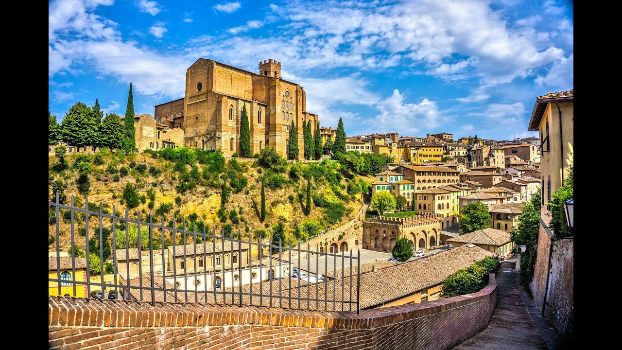 tuscany italy siena tour virtual