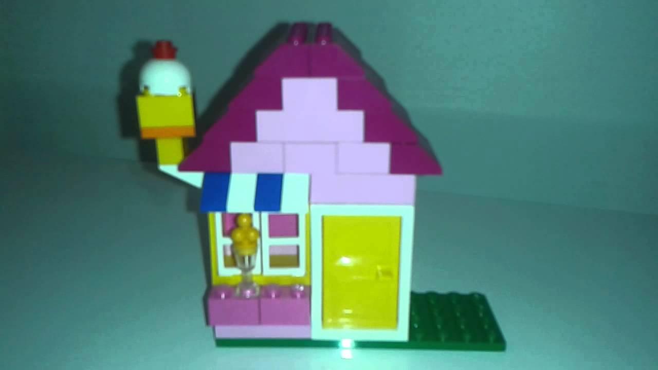 Jeu de construction enfant maison lego youtube - Lego construction maison ...
