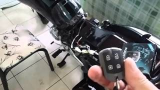 Instalação alarme positron fx 330 na fan 150cc