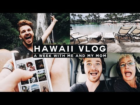 VLOG - A Week in Hawaii with Me + My MOM!!! 🌴🍍 // Imdrewscott