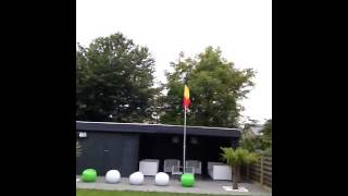 vlaggengroet 2014 Rode Duivels