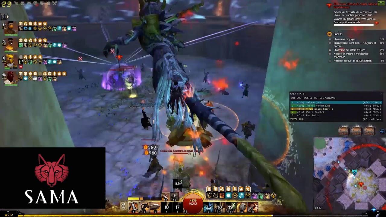 Guild Wars 2 fractale 87 Oasis du crépuscule (BS Pov)