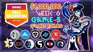 $1,000,000 🥊Grand Finals Fall Skirmish🥊 Week 6/Game 5 (Fortnite)