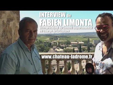 Les RDV Cultur'L   Fabien LIMONTA, Vice président du conseil départemental de la Drôme en charge de