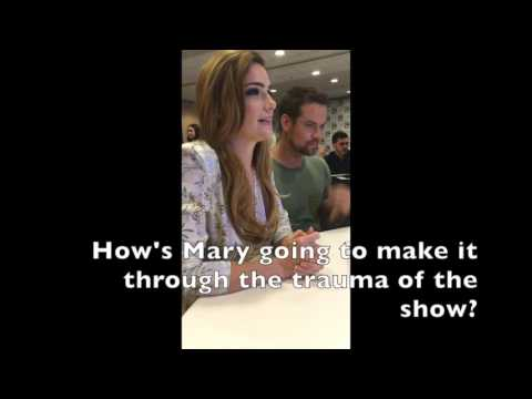 Inside the Comic- Con Press Room: Salem (Janet Montgomery & Shane West)