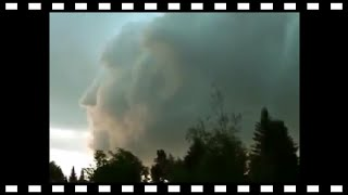 * NATURE * Strange * Mysterious Head in the clouds, New Brunswick Canada 2011