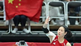 YAN NI vs Russia - japan - korea - Dominican | volleyball world cup 2019| volleyball HL